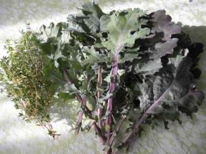 Kale & Thyme