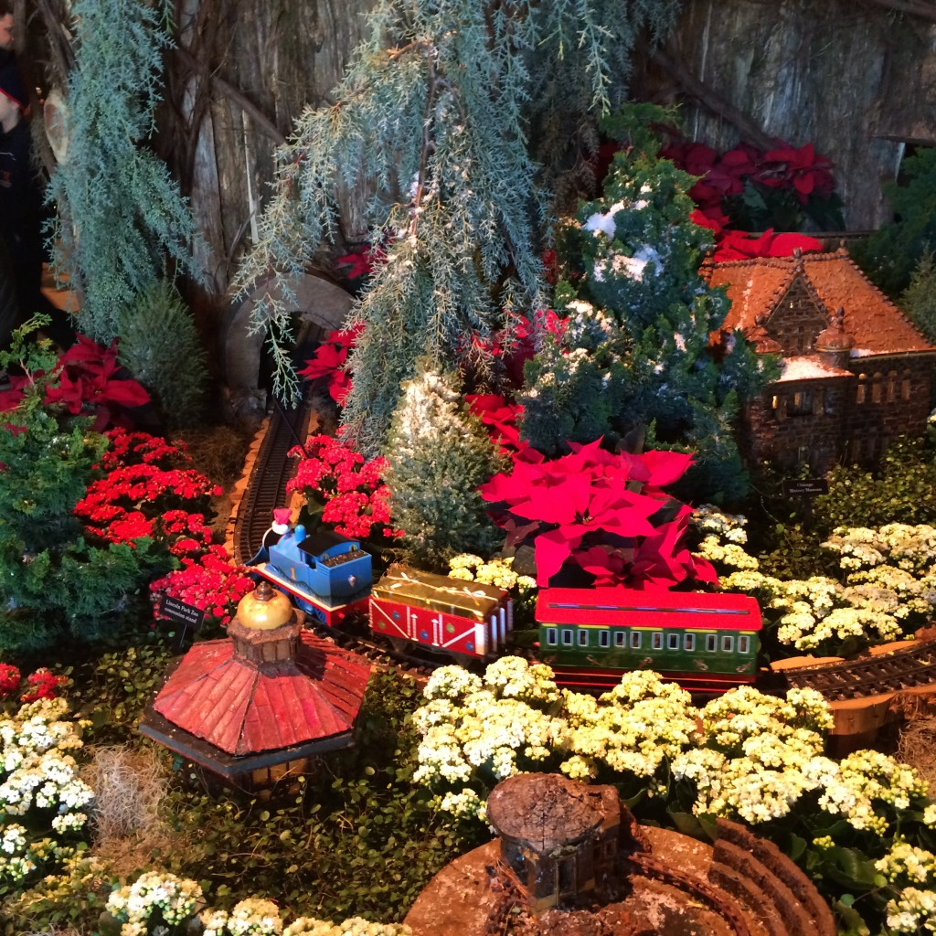 Christmas Train Exhibit